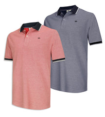 Hoggs of Fife Kinghorn Polo Shirt | Red, Navy