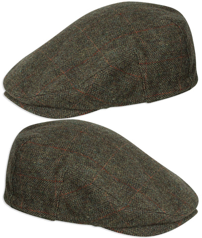 Hoggs Harewood Lambswool Tweed Cap | Waterproof