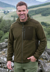 man wearing Hoggs of Fife  Kinross Waterproof Field Jacket
