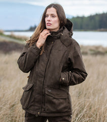 Hoggs of Fife Ladies Rannoch Jacket Dark Green
