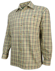 Hoggs of Fife Bracken Micro Fleece Lined Shirt