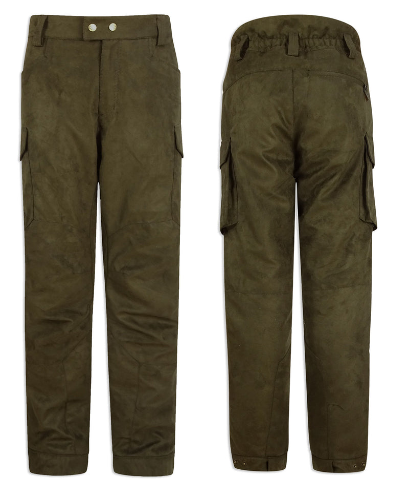 Back and side view Hoggs of Fife Rannoch Waterproof Shooting Trousers