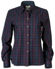 Hoggs of Fife Ally Shirt | navy Berry