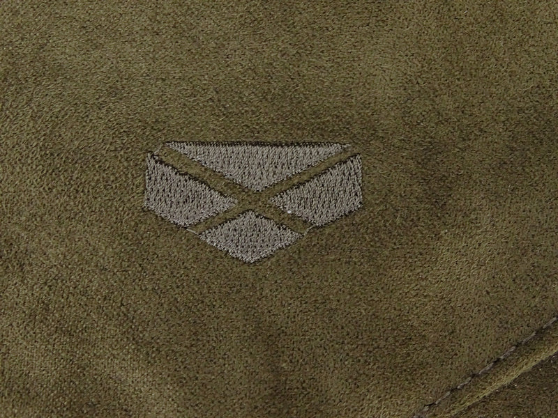 Hoggs Logo on Suede trousers