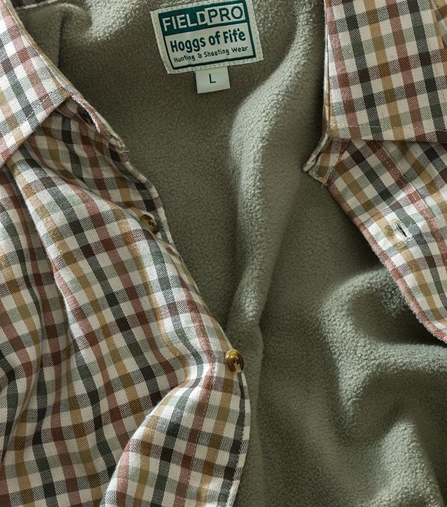 Bracken Micro Fleece Lined Shirt by Hoggs of Fife