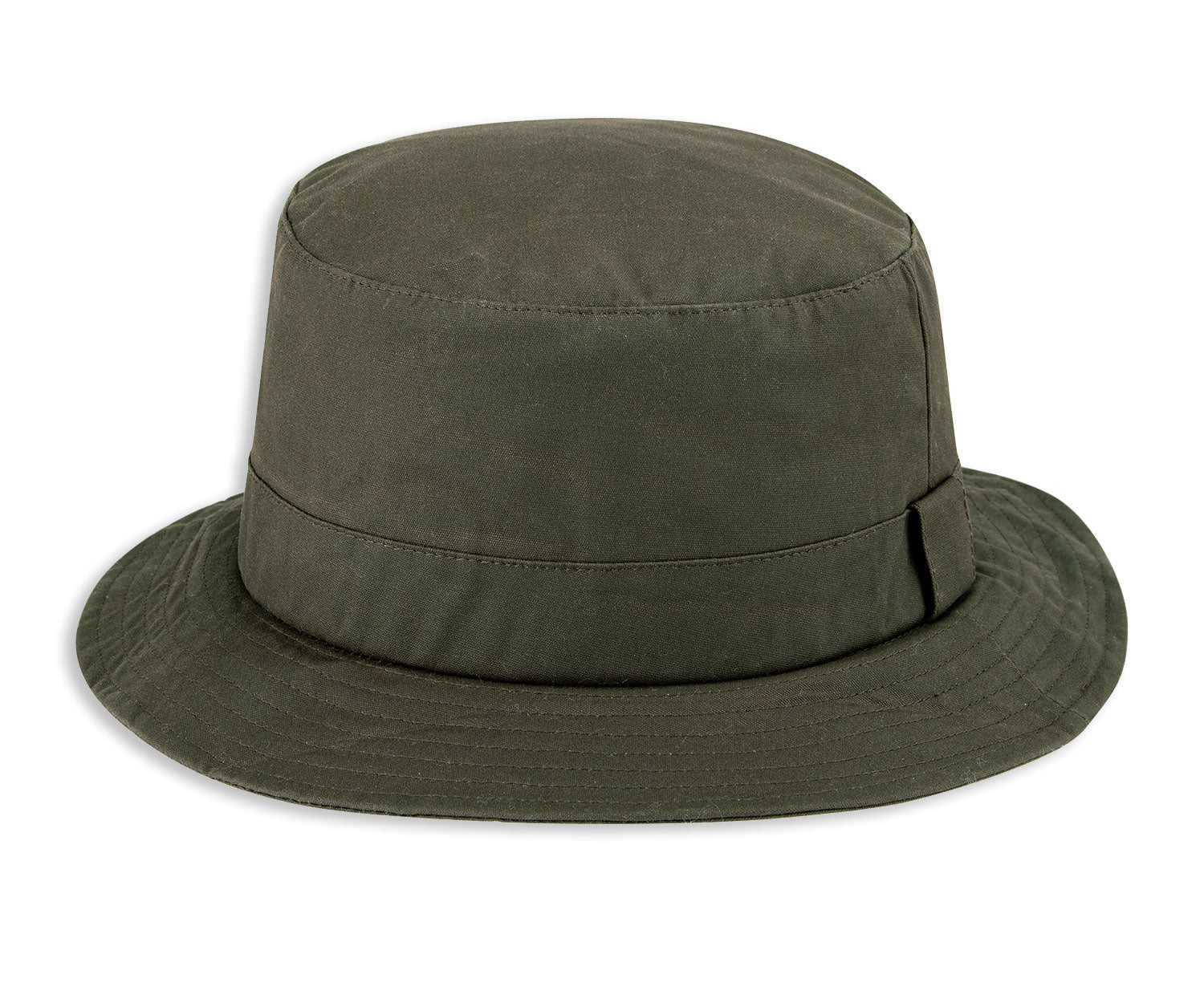 Green Olive Hoggs of Fife Waxed Bush Hat