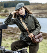 Country wear Cheltenham Belted Waxed Jacket by Hoggs of Fife