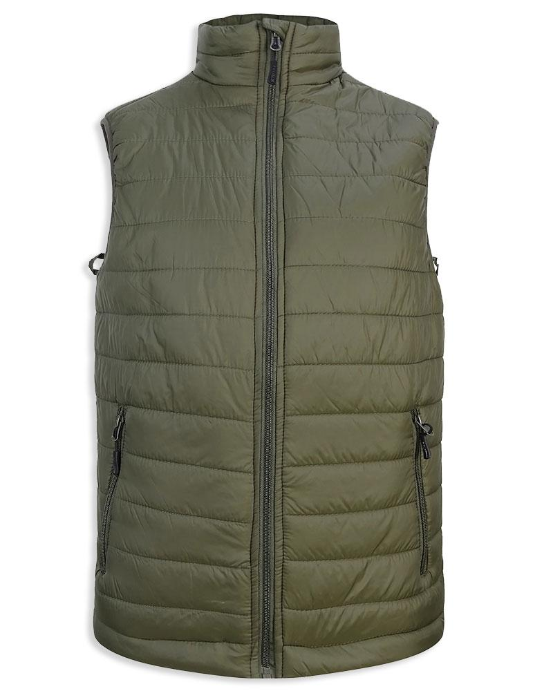 Hoggs of Fife Craigmore Quilted Gilet | Green