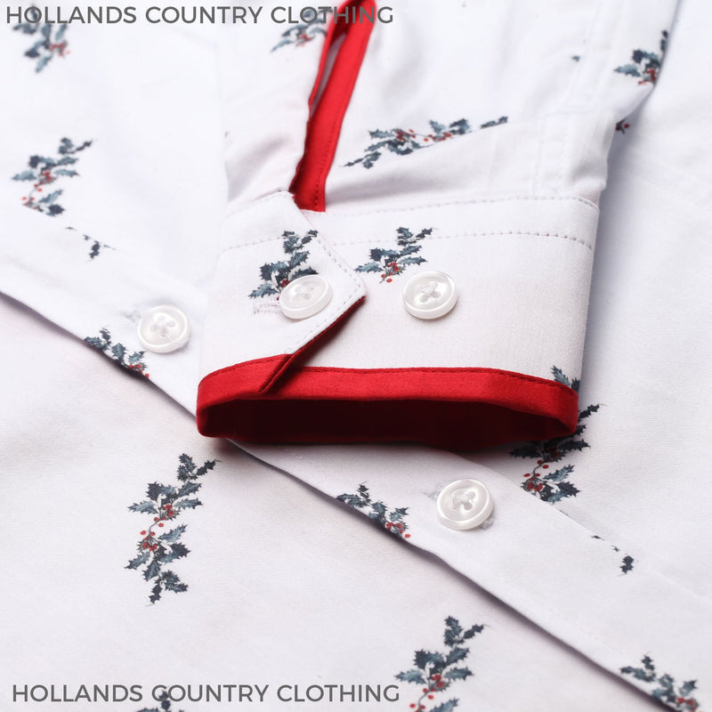 Holly and Berries Christmas Shirt