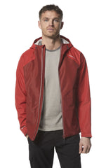 Technical lightweight breathable waterproof from Craghoppers in red
