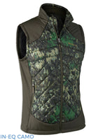 IN-EQ Camouflage Deerhunter Cumberland Quilted Waistcoat