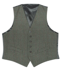 laid flat Hoggs of Fife Invergarry Tweed Dress Waistcoat