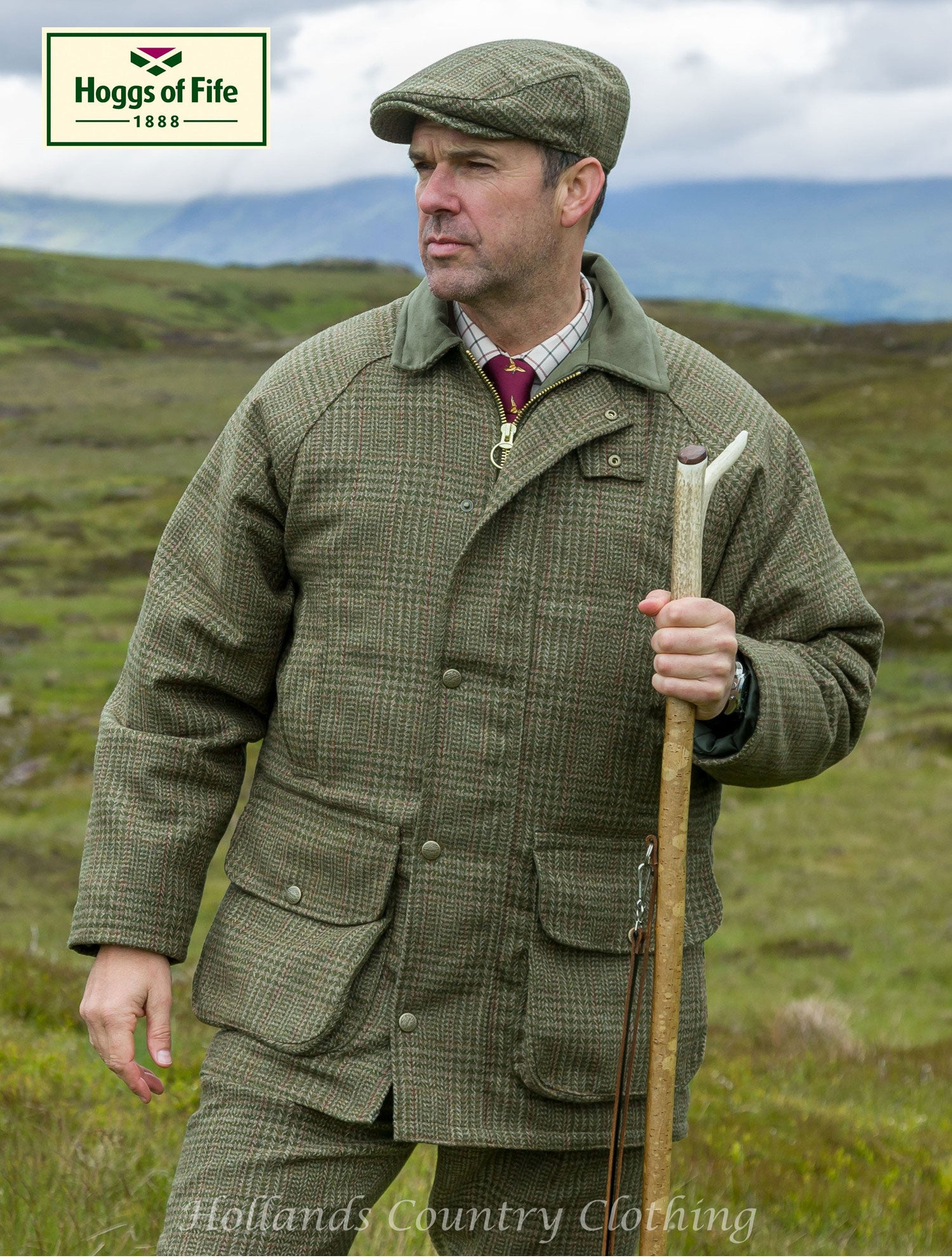 hoggs of fife tweed shooting outfit invergarry