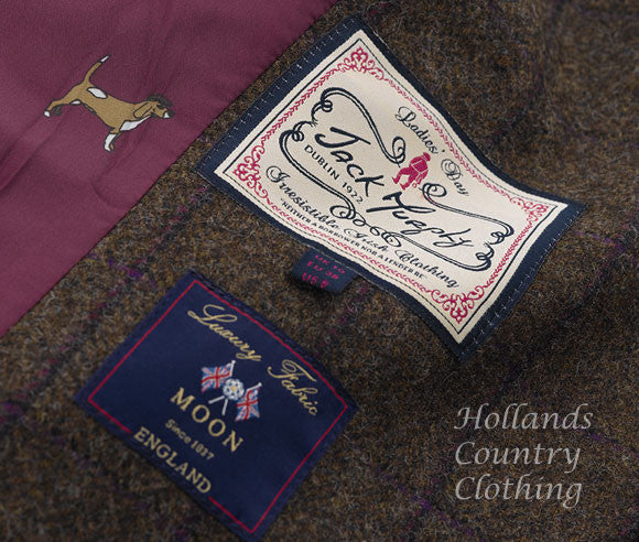 tweed for this year's Autumn Winter collection from Abraham Moon & Sons Ltd, England