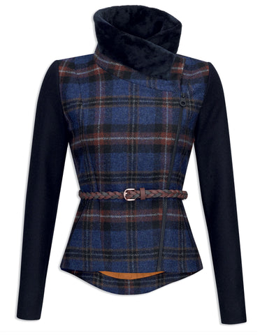 Jack Murphy Florrick Tweed Jacket - Midnight Walk