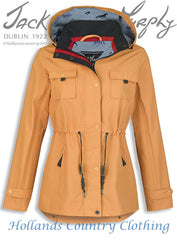 golden spice Jack Murphy Farrah Waterproof Coat
