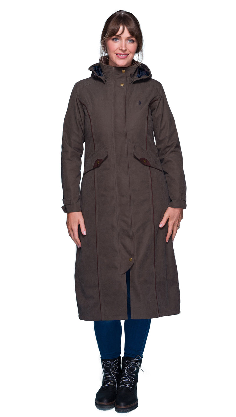 Jack Murphy Erin Long Waterproof Coat | Olive