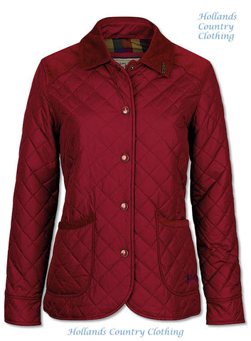 Jack Murphy Haley Ladies Diamond Quilted Jacket