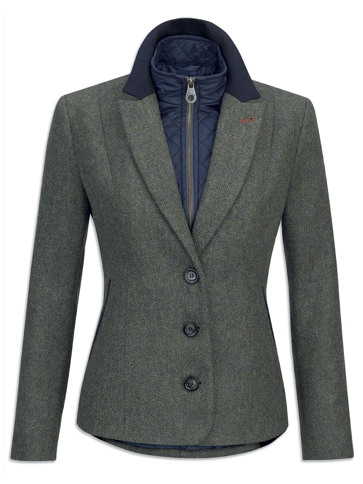 Jack Murphy Nicky Ladies Tweed Hacking Jacket | Green u2013 Hollands Country Clothing