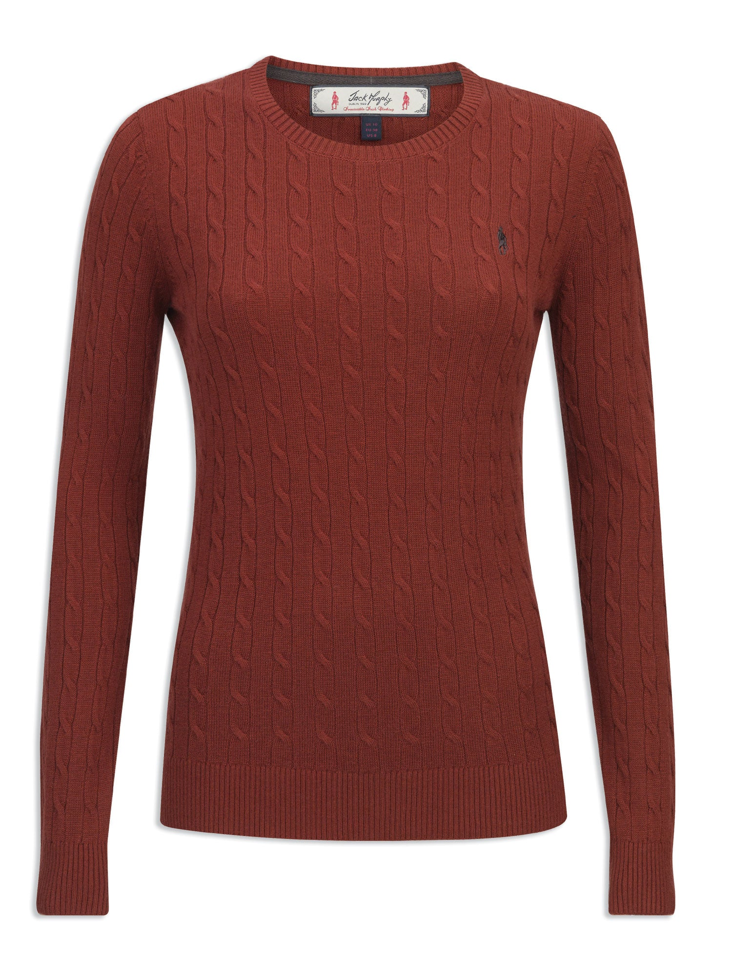 Jack Murphy Freda Crew Neck Sweater | Red Brick
