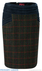 Jack Murphy Norah Tweed Skirt | Primary Green,