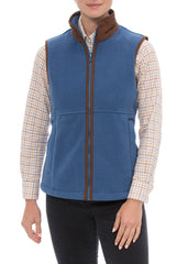 lady wearing Alan Paine Aylsham Fleece Gilet | Jean