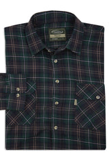 GREEN Tartan Lumberjack Shirt Kilbeggan by Champion