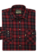 RED Tartan Lumberjack Shirt Kilbeggan by Champion