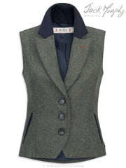 Jack Murphy Kay Ladies Tweed Gilet