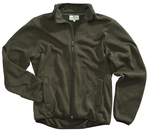 Quality fleece in green from hoggs of fie