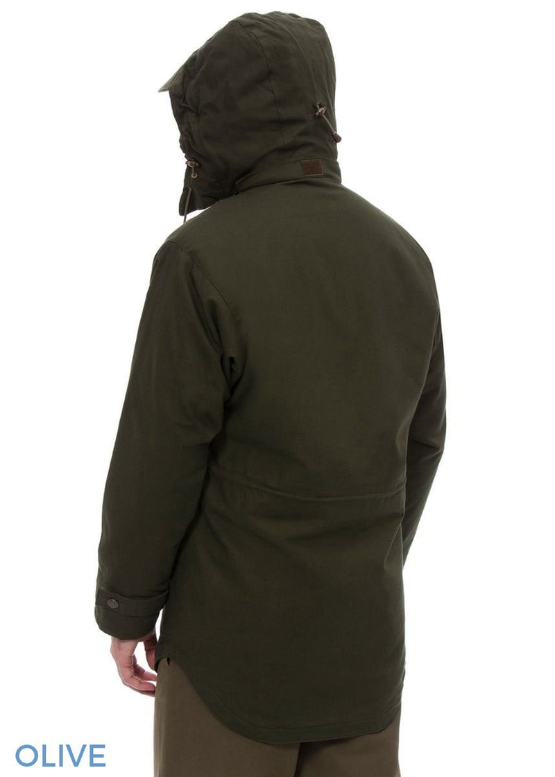 Hood up Kexby Men's Waterproof Smock Jacket Alan Paine