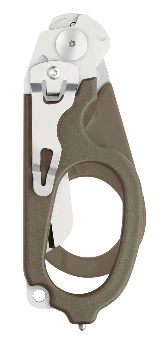 Tan Foldable Stainless Steel Shears Multi-Tool by Leatherman
