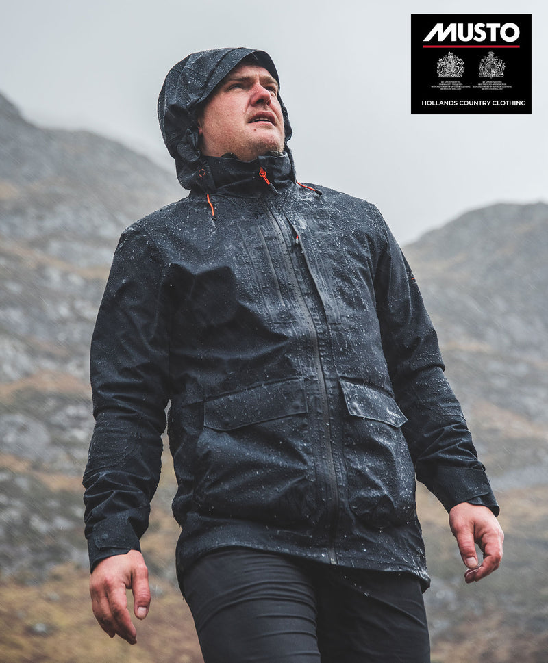 Waterproof Musto X Land Rover Gore-Tex Parka