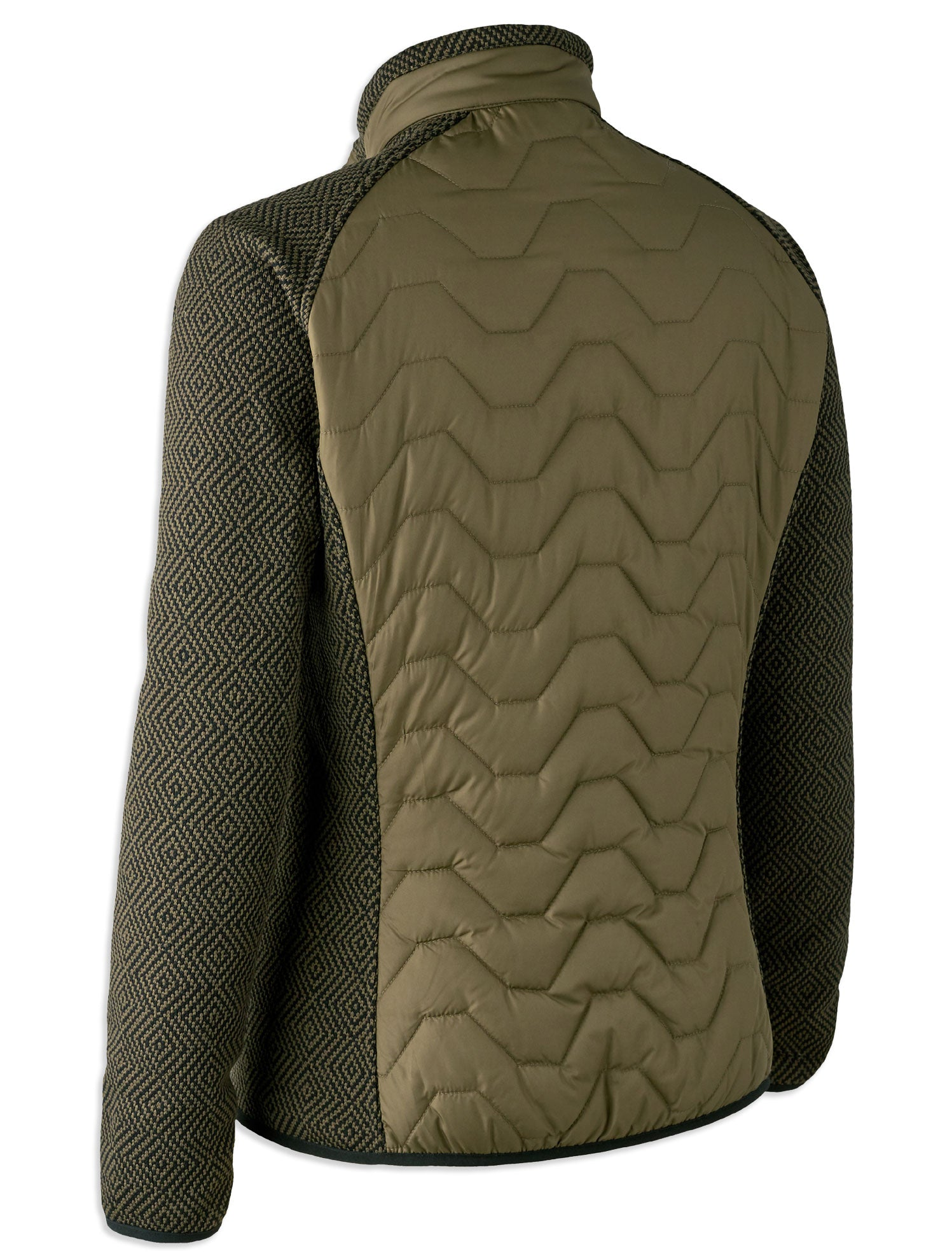 Lady Beth Quilted Jacket with Knit Sleeves by Deerhunter