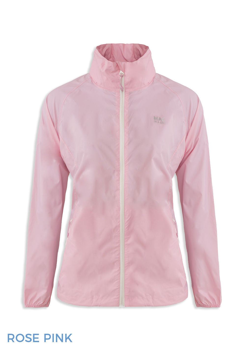 Rose Pink Packaway Waterproof Jacket by Lighthouse