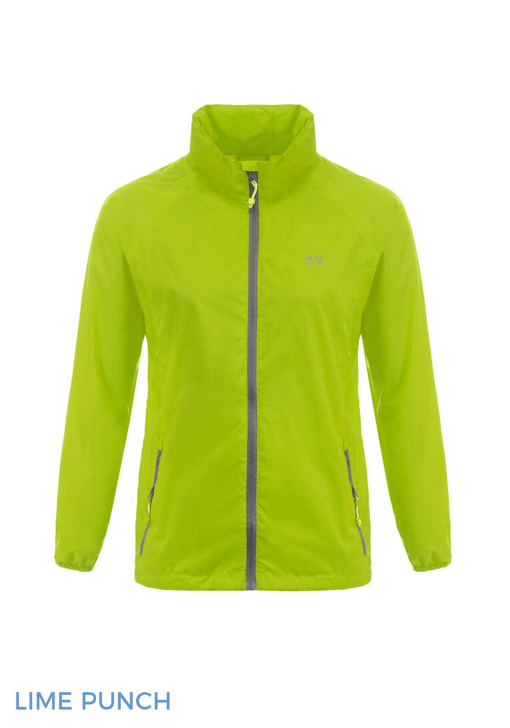 Lime Puch Packaway Waterproof Jacket by Lighthouse