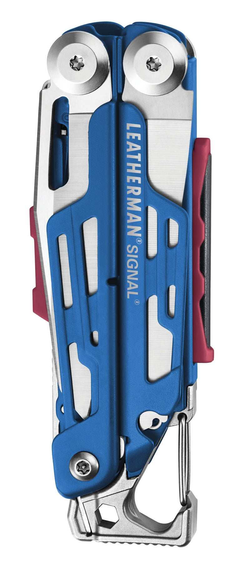 Closed Blue Cerakote Leatherman Signal®+ Multi-Tool