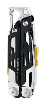 Closed Leatherman Signal®+ Multi-Tool W/ Nylon Sheath