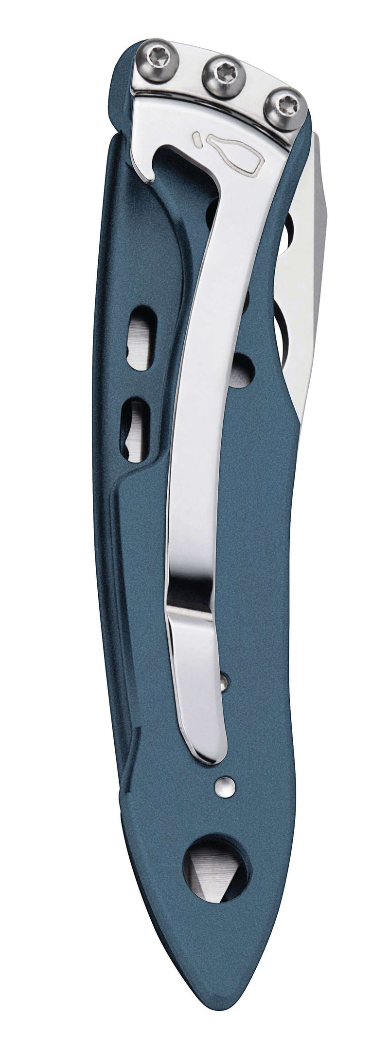 Closed with belt clip Leatherman Skeletool® KBX Knife | Four Colours