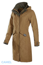 camel waterproof baleno chelsea coat