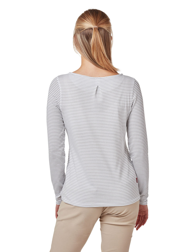 Back View Soft Grey Marl