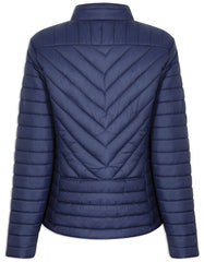 Back View Champion Frimley Baffle Quilted Jacket
