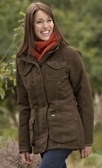 laidies Sherwood Forest Hampton Waterproof Jacket