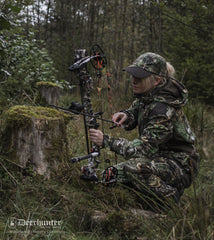 hunting with bow Lady Christine Waterproof Camouflage Jacket by Deerhunter