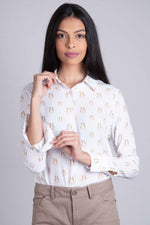 Ladies Hartwell Lydia Cotton Shirt | Boxing Hares