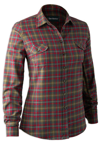 Deerhunter Lady Sophie Shirt tartan plaid shirt