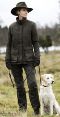 classic country jacket Lady Josephine Waterproof Jacket by Deerhunter