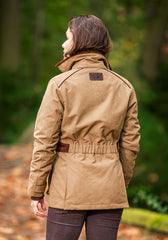 Back View Baleno Ladyfield Waterproof Jacket