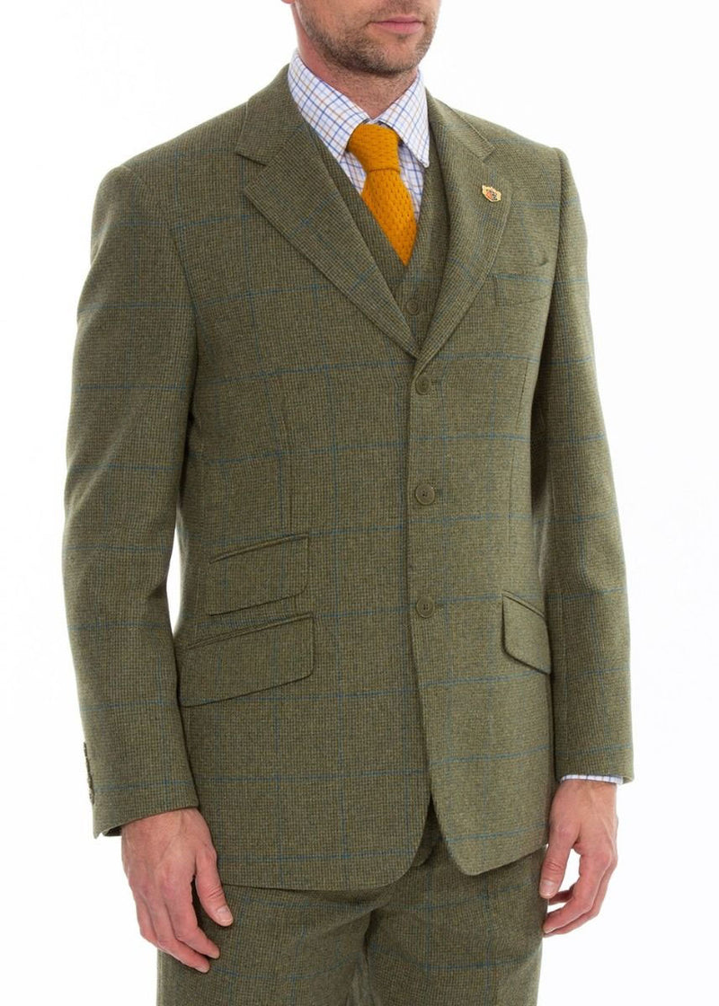 Combrook Country sports jacket in Lagoon tweed