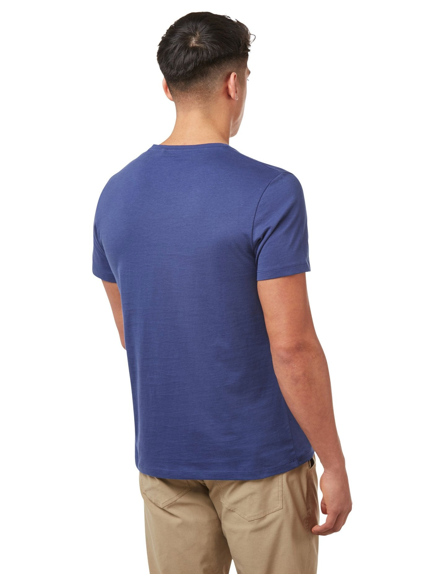 Blue Nelson T-Shirt by Craghoppers  back view